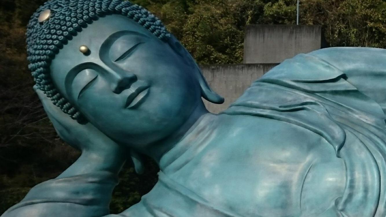 福岡県篠栗にある南蔵院の御朱印を書いてもらった