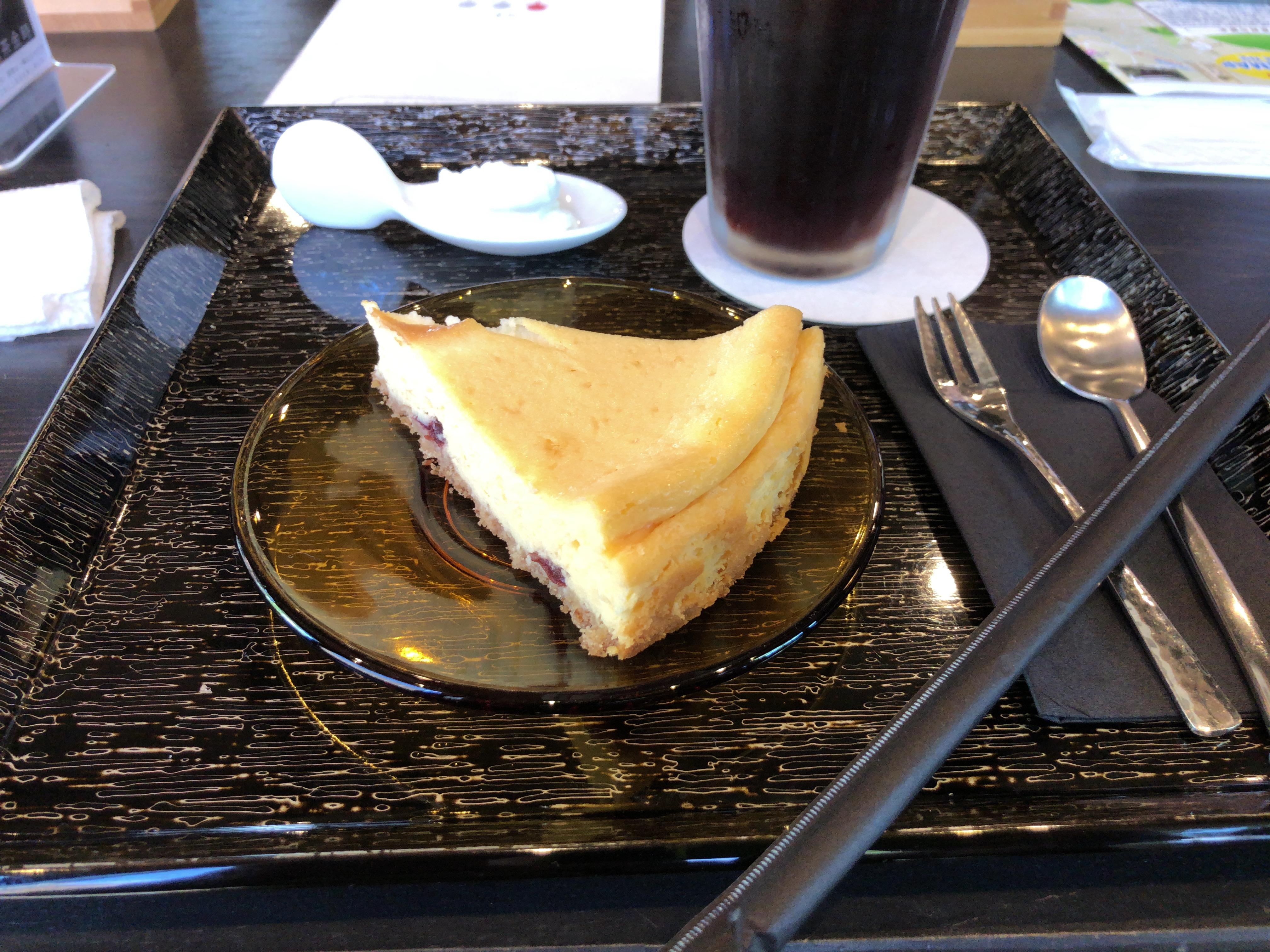 酒粕を使ったチーズケーキが絶品。下関、酒庵-空kuー