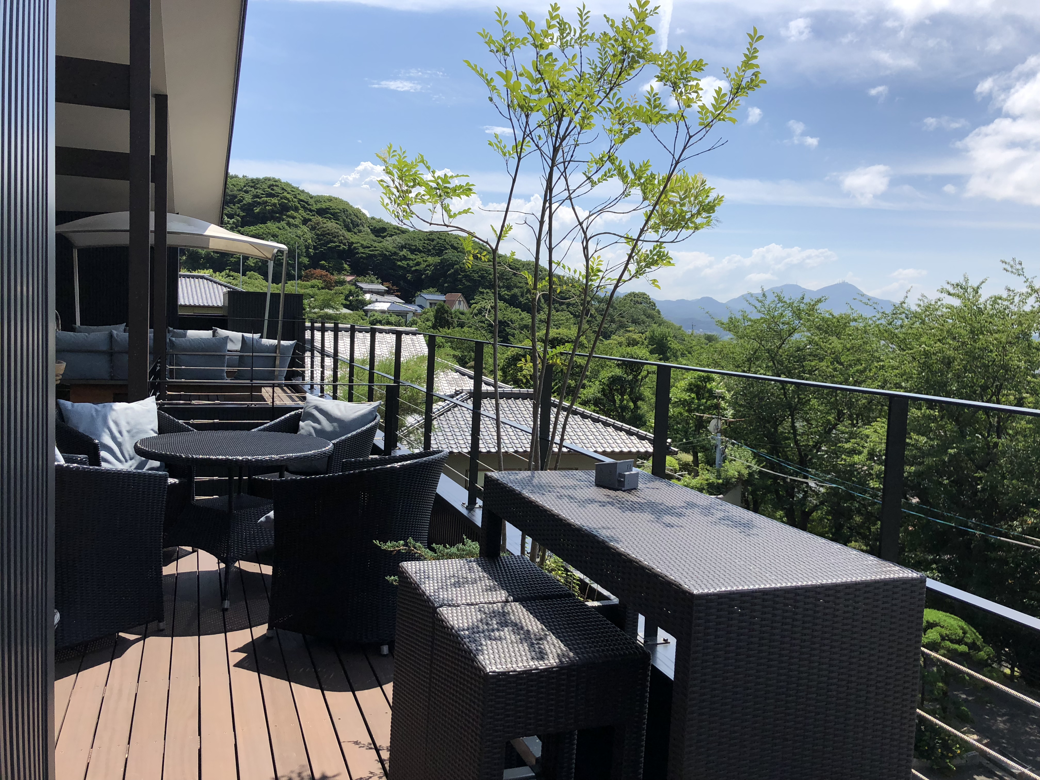 北九州の山の中の眺めがいいお家カフェ(Brillante)ブリランテ