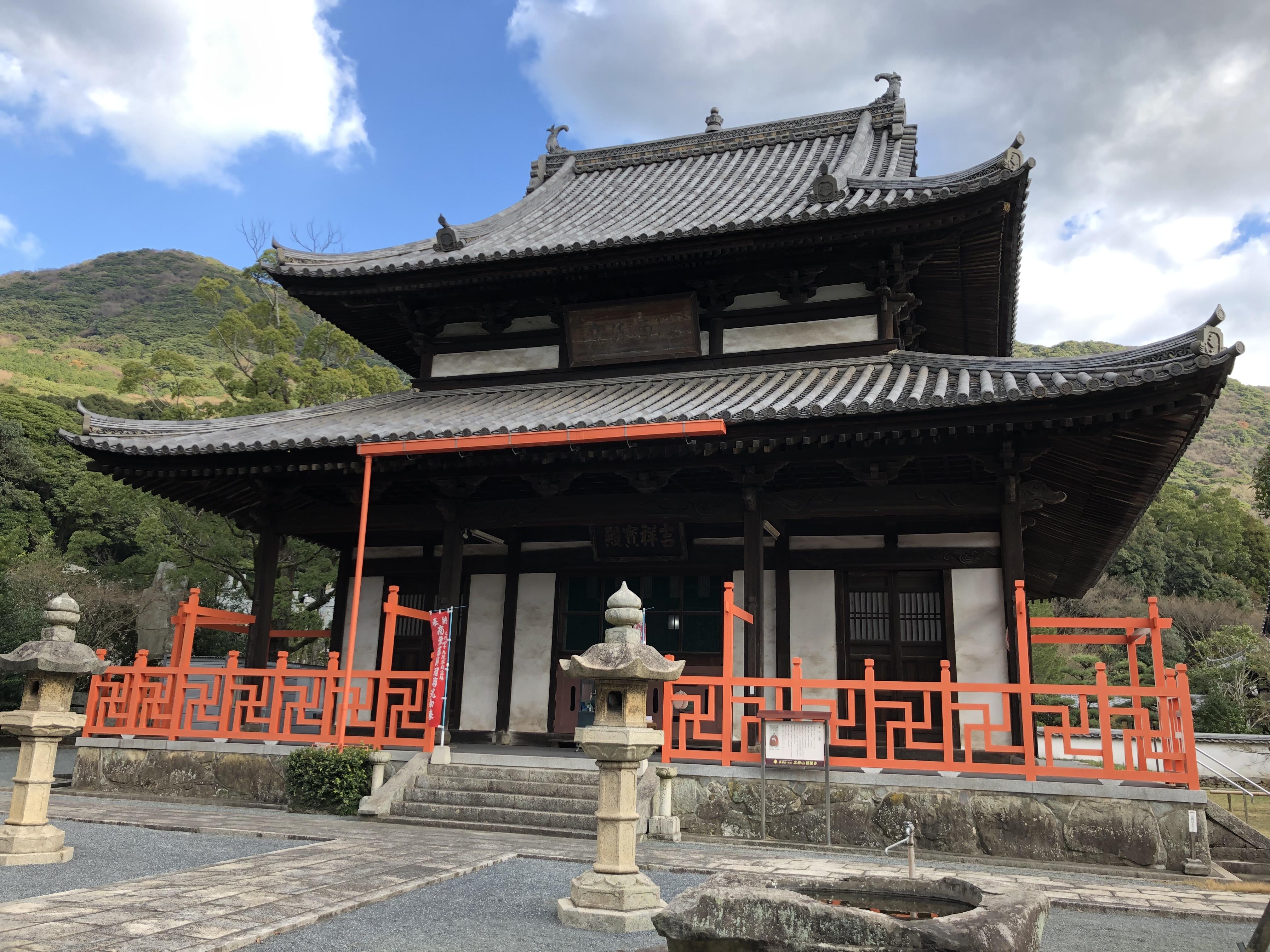 2019年参拝。黄檗宗広寿山福聚寺