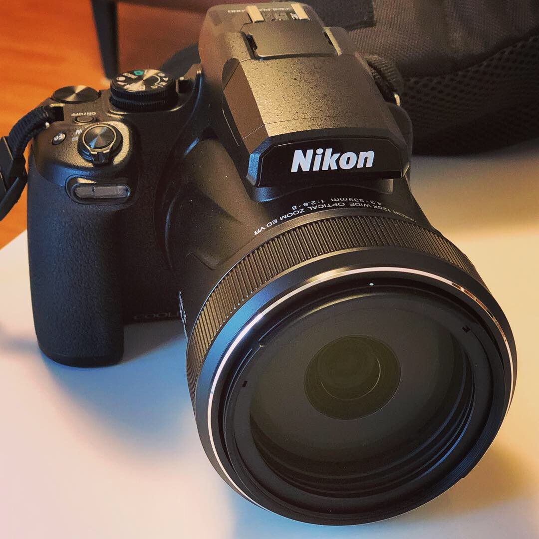 Nikon最強コンデジ『COOLPIX P1000』のズーム性能(飛行機編)